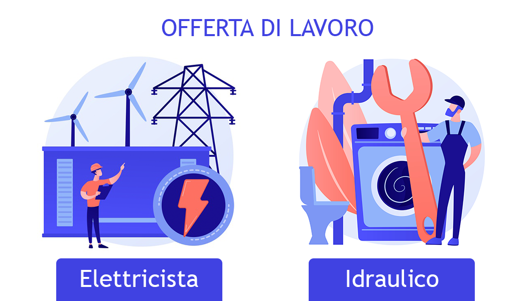 Offerta di lavoro: Idraulico/Elettricista per  impianti natatori